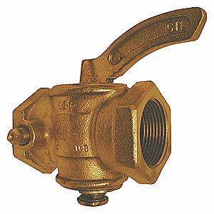 GAS COCK,1 IN,FNPT,2,100,000 BTU