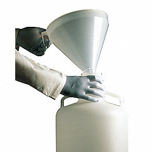 FUNNEL WITH HANDLE FOR CARBOY DRUM