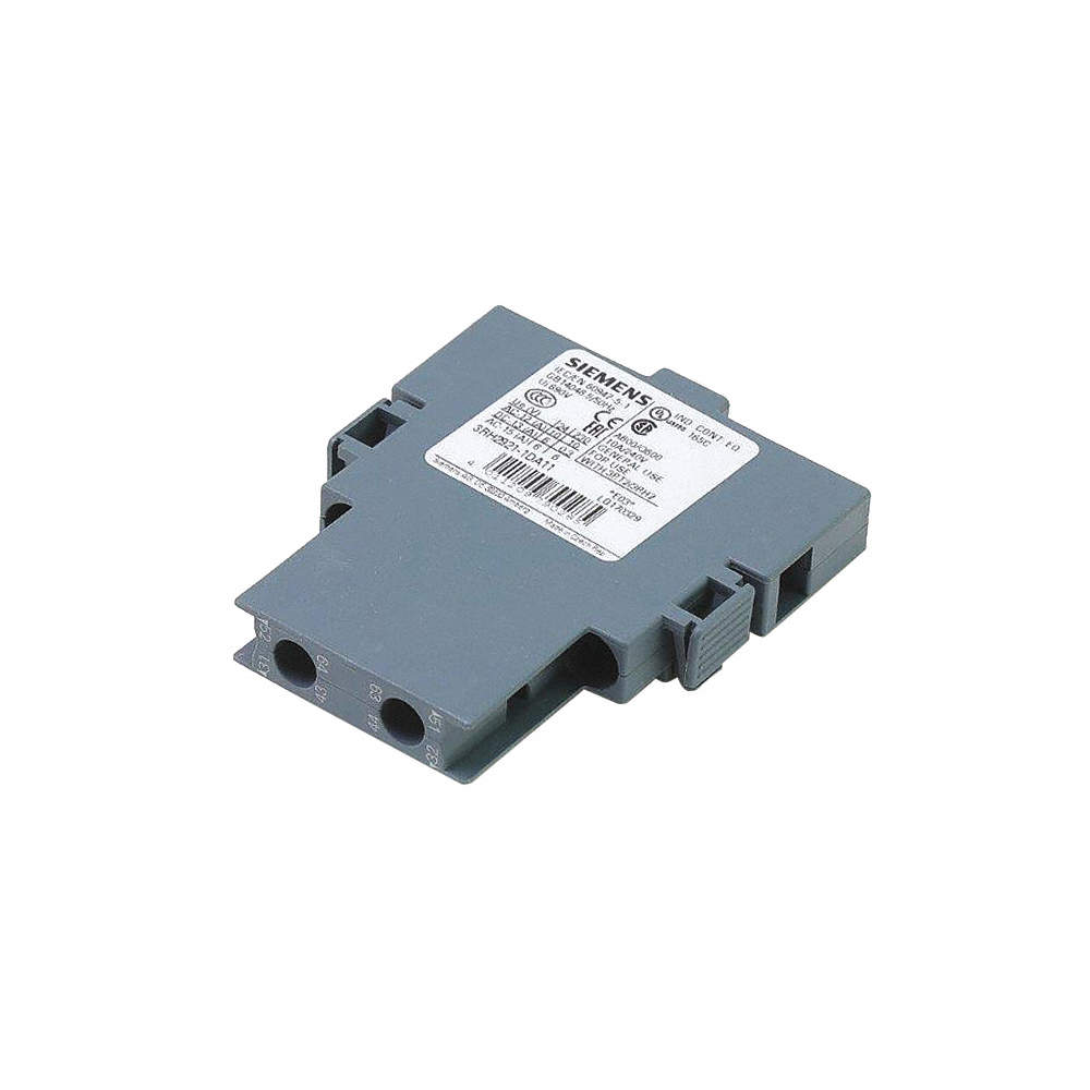 Auxiliary Switch, Fits Brand Siemens, For Use With Mfr  Model Number  3RT20 2, 3RT23 2, 3RT25 2