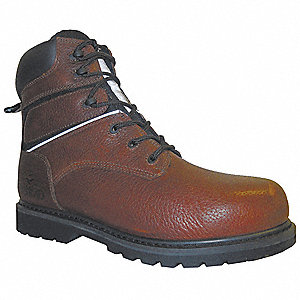 Insulated Boots,Steel Toe,6In,10-1/2,PR