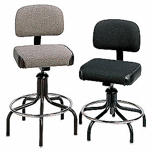 TASK CHAIR,300 LB.,BLACK