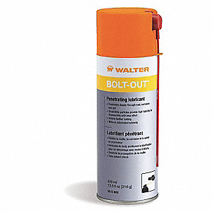 13.5 oz. Aerosol Can Penetrating Lubricant, Gray