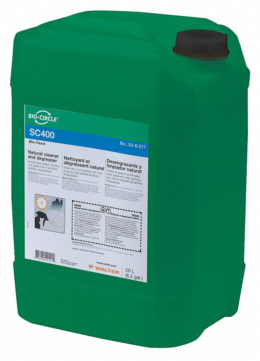 Cleaner/Degreaser,  Size 5.2 gal
