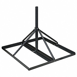 Non-Penetrating Roof Mount For Use With DBS, Antenna, Satellite