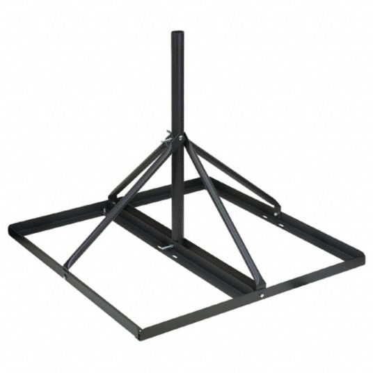 Roof Mount,  For Use With Antenna, DBS, Satellite,  35 in Nominal Length,  35 in Nominal Width