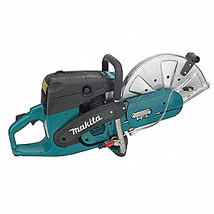 "14"" Wet/Dry Cut-Off Saw, 4300 Max. RPM, 5.7 HP, 2-Cycle Gasoline Motor Type"
