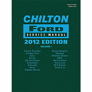 Chilton Ford Service Manual 2012