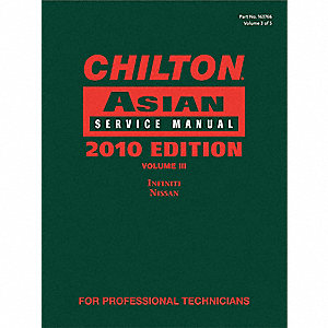 Chilton 2010 Asian Service Manual