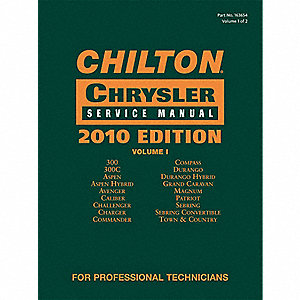 Chilton 2010 Chrysler Service Manual