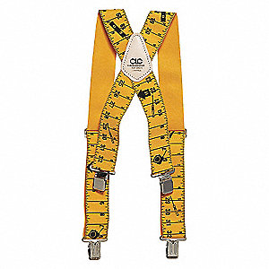 TAPE RULE SUSPENDER,YLW