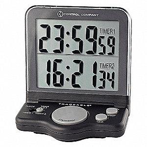 JUMBO TIMER,1 IN,LCD