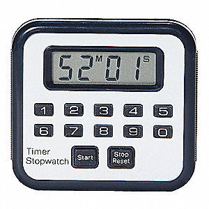 COUNT-UP/DOWN TIMER,BLACK