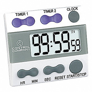 DIGITAL TIMER,3/4 IN. LCD,2 CHANNEL