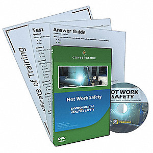 DVD,Hot Work Safety,English