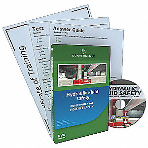 DVD,Hydraulic Fluid Safety,English