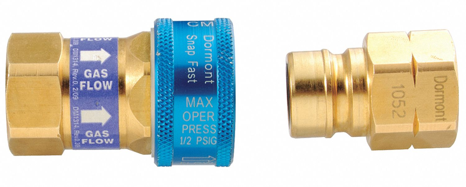 Gas Connector Fitting