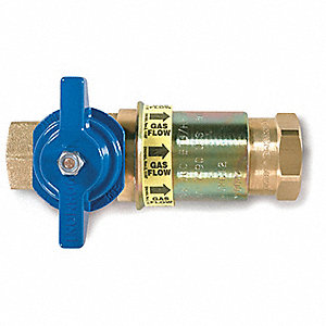 Shutoff Valve,Quick Disconnect,1 In