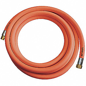 25ft. Wash Down Hose, Safety Orange