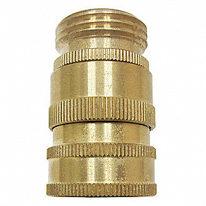 Brass Swivel Hose Adapter, For Use With Nozzles and Hose