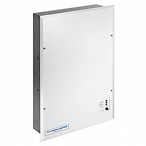 Interruptible AC Power System, Recess Wall Mounting, 125 VA Rating