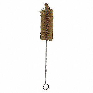 RADIAL END BRUSH, NATURAL,WIRE, 11I