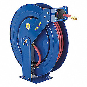 HOSE REEL,SPRING RETURN,3/8IN ID X