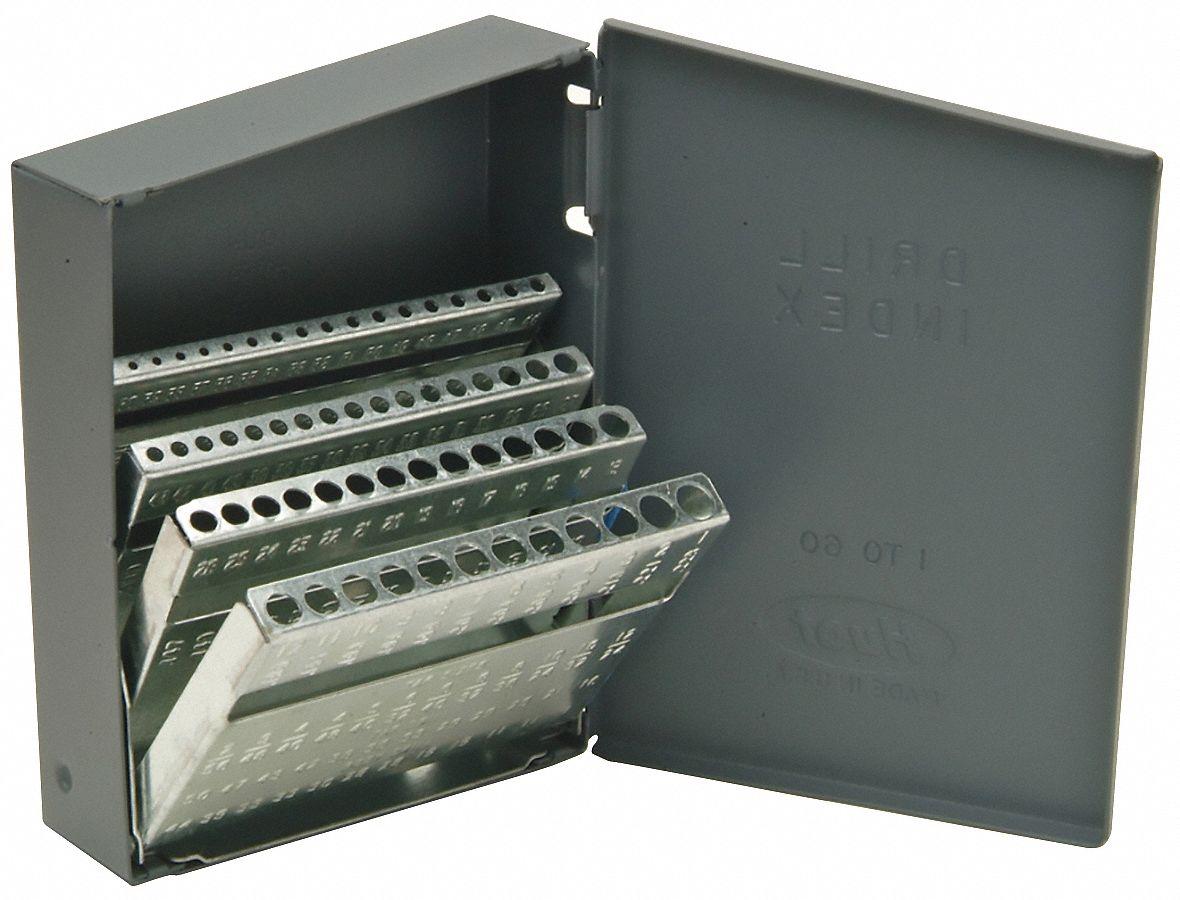 Drill Bit Cases & Cabinets