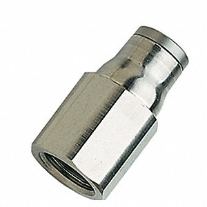 "Adapter,Tube x BSPP,1/4"",1/8"""