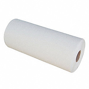 "Preformed Thermoplastic Pavement Markings, White, Rolls, 30 ft. Overall Length, 24"" Overall Width"