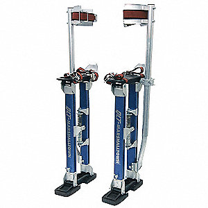 Drywall Stilts,24 to 40 In,225 lb,PR