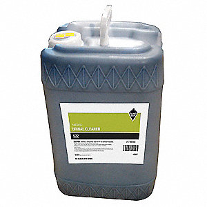 Urinal Cleaner, 6 gal. Pail, Unscented Liquid, Ready To Use, 1 EA
