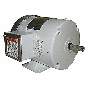 WASHDOWN MOTOR,3 PH,TEFC,1/2 HP,172