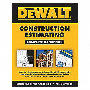 DEWALT CONSTRUCTION ESTIMATING HAND