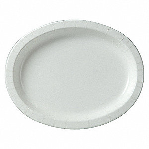 DISPOSABLE PLATE,8.5X11 IN.,WHITE,P