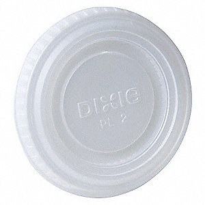 DISPOSABLE SOUFFLE CUP LID,PK 2400