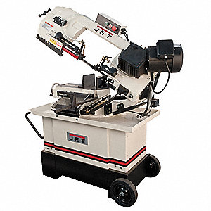 1 HP Horizontal Miter Band Saw, Voltage: 115/230, Max. Blade Length: 93""