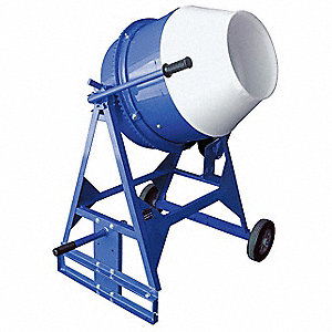 Concrete Mixer,3 Cu. Ft.,Electric,1/2HP