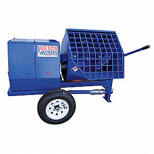 Mortar Plaster Mixer,12 Cu. Ft.,Gas,8HP