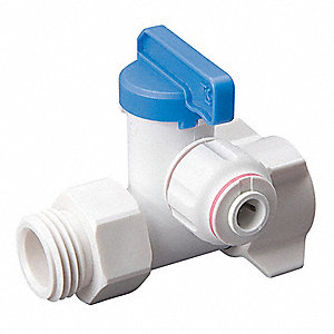 Faucet Adapter,1/2 In,3/8 In Tube OD