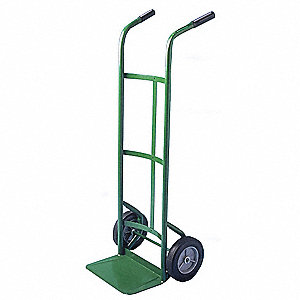 Hand Truck,Cap 500 Lb,Double Handle