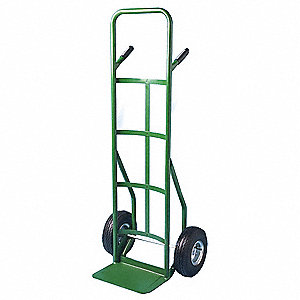 Hand Truck,Cap 800 Lb,Double Grip Handle