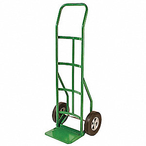 Hand Truck,Cap 600 Lb,Continous Handle