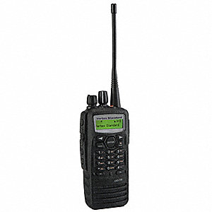 UHF Backlit LCD Portable Two Way Radio, Number of Channels 512
