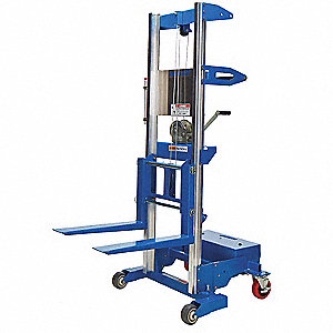 Invertible Fork Counterbalanced Lift, 350 lb., Lifting Height Forks Up 140""