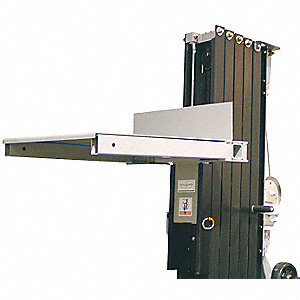 "Load Platform, 27-1/2"" Overall Length, 23"" Overall Width, 2-3/4"" Overall Height"