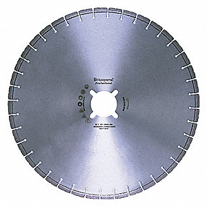 "26"" Wet Diamond Saw Blade, Segmented Rim Type, Application: Demolition"