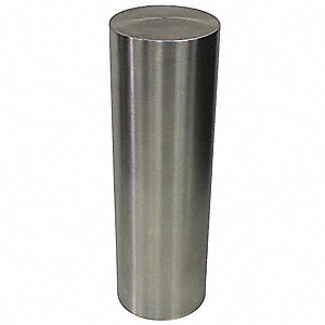 "36""H Stainless Steel Bollard Cover For Post Size with 6-5/8"" dia., Silver"