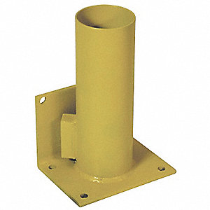 Storage Rack,Cap. 1,5 In,Lockable,Yellow