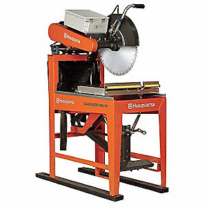 "20"" Masonry Saw, 220 Voltage, 5 HP"
