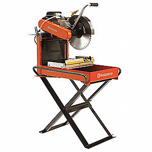 "14"" Masonry Saw, 110, 220 Voltage, 4.8 HP"